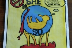 Poster Making Competition - Save The Girl Child